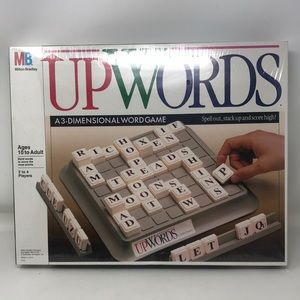 Up Words 3 Dimensional Word Game NEW